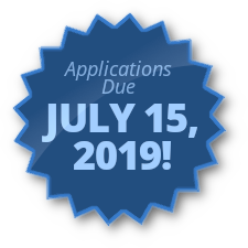 Applications Due July 15, 2019